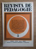 Anticariat: Revista de pedagogie, nr. 5, 1981