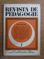 Anticariat: Revista de pedagogie, nr. 7, 1980
