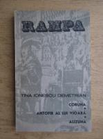 Anticariat: Tina Ionescu Demetrian - Coruna. Antofir al lui Vioara. Alizuna