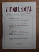 Anticariat: Viitorul social. Revista de sociologie si stiinte politice, martie-aprilie, 1985