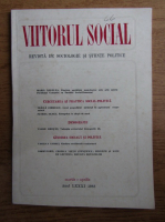 Anticariat: Viitorul social. Revista de sociologie si stiinte politice, martie-aprilie, 1988