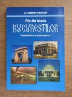 Anticariat: Constantin Olteanu - File din istoria bucurestilor