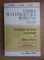 Anticariat: Maria Boatca - Limba si literatura romana in licee