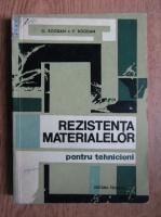 Oltea Bogdan - Rezistenta materialelor pentru tehnicieni
