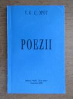 V. G. Clopot - Poezii