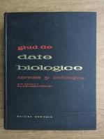 Anticariat: A. Paunescu-Podeanu - Ghid de date biologice normale si patologice