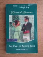 Anne Ashley - Historical romance. The earl of Rayne's Ward
