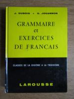 Jean Dubois - Grammaire et exercices de francais