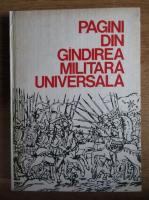 Pagini din gandirea militara universala (volumul 3)