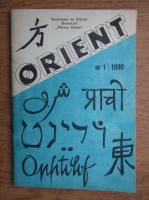 Anticariat: Revista Orient, nr. 1/1990