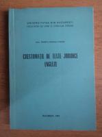 Rodica Hanga Calciu - Crestomatie de texte juridice engleze