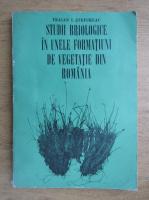 Anticariat: Traian I. Stefureac - Studii briologice in unele formatiuni de vegetatie din Romania