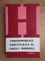 Traian Stirbat - Corespondente structurale in logica moderna