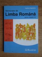 Anticariat: Vasilica Zegreanu - Memorator de limba romana pentru clasele 5-8