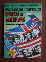 Anticariat: Bantas - Manual de literatura engleza si americana
