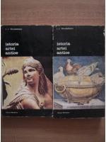 Anticariat: J. J. Winckelmann - Istoria artei antice (2 volume)