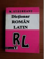 M. Staureanu - Dictionar Roman-Latin
