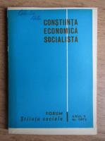 Anticariat: Constiinta economica socialista, anul V, nr. 1, 1973