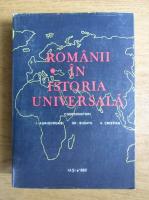 Anticariat: I. Agrigoroaiei - Romanii in istoria universala (volumul 1)