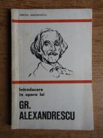Anticariat: Mircea Anghelescu - Introducere in opera lui Gr. Alexandrescu