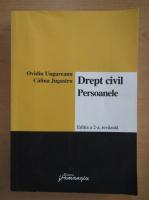 Anticariat: Ovidiu Ungureanu - Drept civil. Persoanele