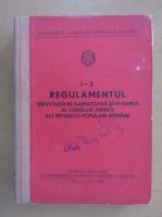 Regulamentul serviciului de garda si garnizoana