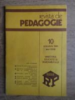 Anticariat: Revista de pedagogie, nr. 10, octombrie 1983