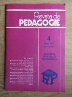 Anticariat: Revista de pedagogie, nr. 4, aprilie 1985