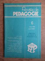 Anticariat: Revista de pedagogie, nr. 6, iunie 1985