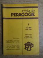 Anticariat: Revista de pedagogie, nr. 7, iulie 1982