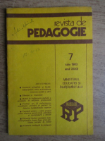 Anticariat: Revista de pedagogie, nr. 7, iulie 1983
