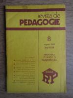 Anticariat: Revista de pedagogie, nr. 8, august 1983
