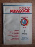 Anticariat: Revista de pedagogie, nr. 8,august 1984