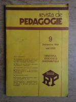 Anticariat: Revista de pedagogie, nr. 9, septembrie 1983