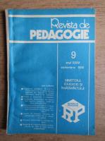 Anticariat: Revista de pedagogie, nr. 9, septembrie 1986