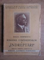 Duiliu Zamfirescu - Romanul comanestilor. Indreptari (volumul 4, 1942)