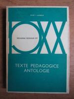 Anticariat: Iosif I. Gabrea - Texte pedagogice, antologie