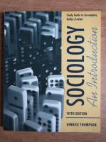 Anticariat: Kenrick Thompson - Sociology. An introduction