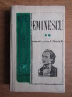 Anticariat: Mihai Eminescu - Poezii. Proza literara (volumul 2)