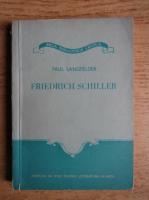 Anticariat: Paul Langfelder - Friedrich Schiller