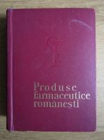 Anticariat: Produse farmaceutice romanesti