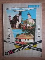 Anticariat: Viorel Capitanu - Ghidul monumentelor din judetul Bacau si Neamt