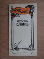 Al. Rosetti - Filosofia cuvantului