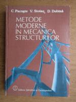 Anticariat: C. Pacoste - Metode moderne in mecanica structurilor