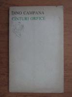 Anticariat: Dino Campana - Canturi orfice