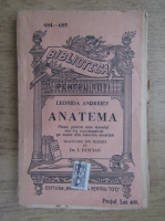 Anticariat: Leonida Andreiew - Anatema (1915)