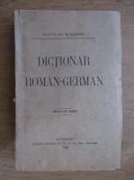 Anticariat: Maximilian W. Schroff - Dictionar roman-german (1925)