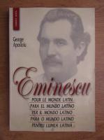 Anticariat: George Apostoiu - Pentru lumea latina