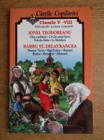 Anticariat: Ionel Teodoreanu, Barbu Stefanescu Delavrancea - Clasele V-VIII, bibliografie scolara completa