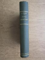 Leon Donici - Noul seminar (1929)